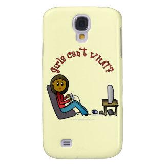Dark Gamer Girl Galaxy S4 Cases