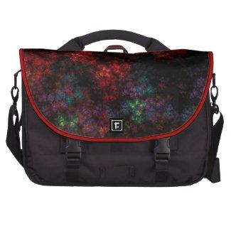 Dark Garden Fractal Commuter Bags