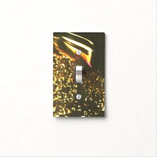 Dark Gemstone Inclusions Light Switch Cover