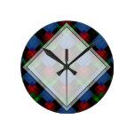 Dark Geometric Pattern. Clocks