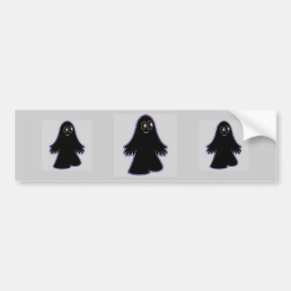 Dark Ghost Car Bumper Sticker