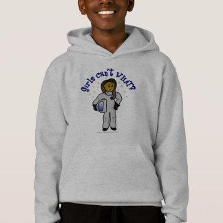 Dark Girl Astronaut Hoodie