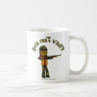 Dark Girl Hunting Coffee Mugs