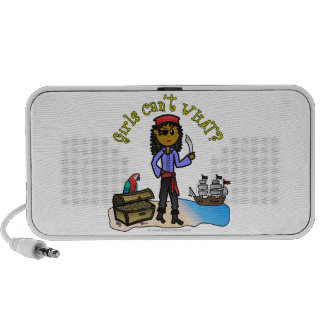 Dark Girl Pirate Mini Speakers