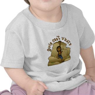 Dark Girl Rock Climber T-shirts