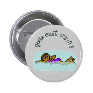 Dark Girl Swimming Buttons