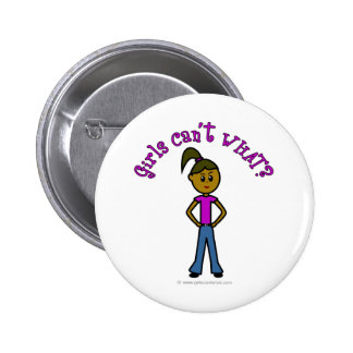 Dark Girls Can't WHAT? Logo Buttons