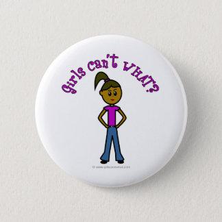 Dark Girls Can't WHAT? Logo Pinback Button