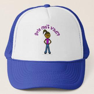 Dark Girls Can't WHAT? Logo Trucker Hat