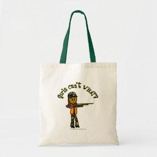 Dark Girls Hunting Tote Bags