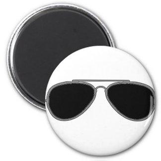 Dark glasses magnet