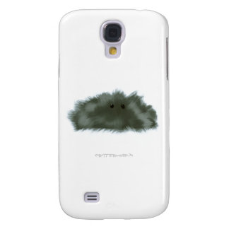 Dark Glossy Puffball Critter Galaxy S4 Cover