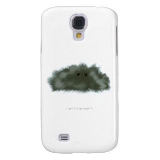 Dark Glossy Puffball Critter Samsung Galaxy S4 Cover