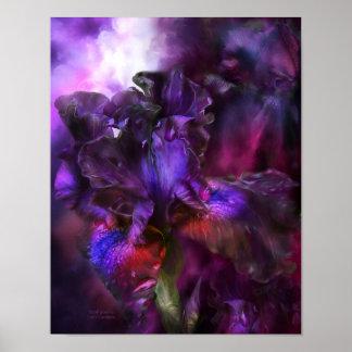 Dark Goddess - Iris Fine Art Poster/Print Poster