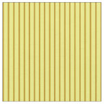 [ Thumbnail: Dark Goldenrod and Yellow Colored Lines Fabric ]