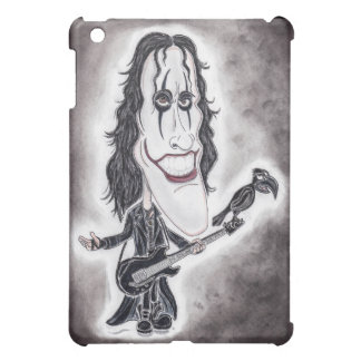 Dark Goth Legend Movie Caricature Drawing Tablet iPad Mini Cases