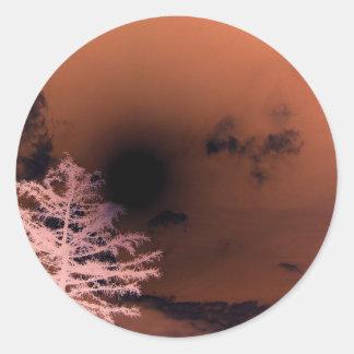 Dark,Goth Sky Stickers