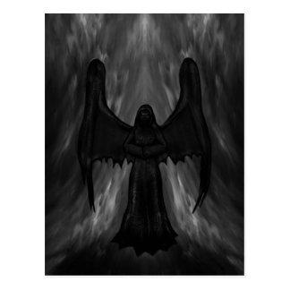 Dark Gothic Angel postcard