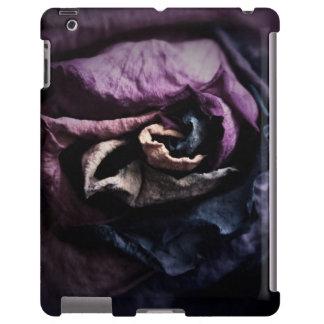 Dark Gothic Boudoir Rose iPad Case