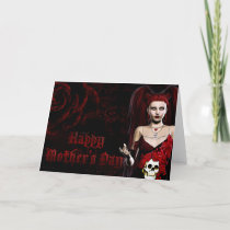 Dark Gothic - Fantasy Mother's Day Card