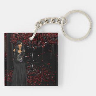 Dark Gothic Key Chain