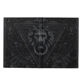 dark gothic lion iPad air covers