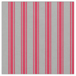 [ Thumbnail: Dark Gray and Crimson Colored Pattern Fabric ]