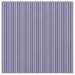 [ Thumbnail: Dark Gray and Dark Slate Blue Colored Lines Fabric ]
