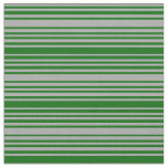 [ Thumbnail: Dark Gray & Dark Green Colored Pattern Fabric ]