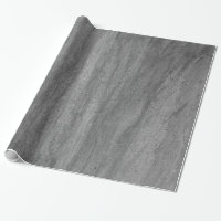 Dark Gray Granite Wrapping Paper