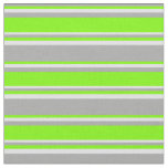 [ Thumbnail: Dark Gray, Green & Lavender Colored Lines Fabric ]