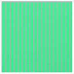 [ Thumbnail: Dark Gray & Green Lined/Striped Pattern Fabric ]