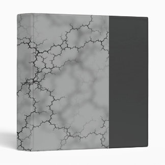 Dark Gray Marble 3 Ring Binder