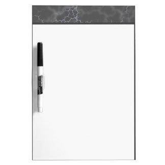 Dark Gray Marble Dry Erase Board
