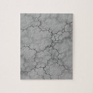 Dark Gray Marble Jigsaw Puzzle