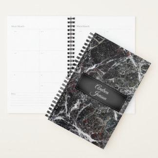 Dark Gray Marble Stone Texture Planner