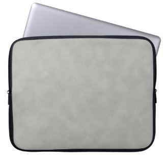 Dark Gray Parchment Texture Background Laptop Sleeve