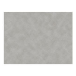 Dark Gray Parchment Texture Background Postcard