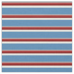 [ Thumbnail: Dark Gray, Red, Maroon, Beige, and Blue Pattern Fabric ]