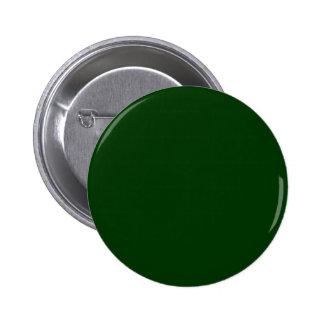 Dark Green 2 Inch Round Button