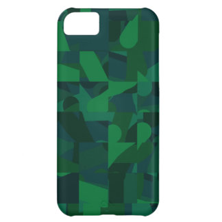 Dark Green Abstract Pattern. Case For iPhone 5C