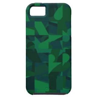 Dark Green Abstract Pattern. iPhone 5 Cover