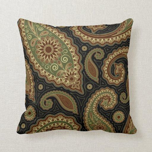 dark green and burgundy throw pillow zazzle. Black Bedroom Furniture Sets. Home Design Ideas