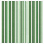 [ Thumbnail: Dark Green and Light Yellow Pattern Fabric ]