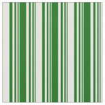 [ Thumbnail: Dark Green and Mint Cream Colored Pattern Fabric ]
