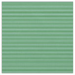 [ Thumbnail: Dark Green and Powder Blue Colored Pattern Fabric ]