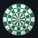 """Dark Green And White Dartboard<br><div class=""""desc"""">Dark Green And White Dart Board</div>"""