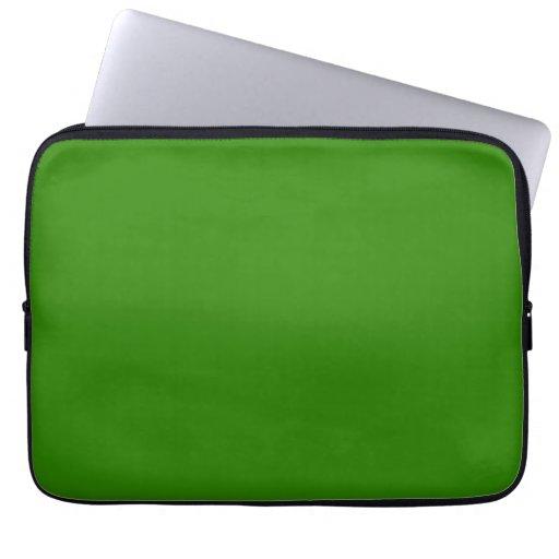 Dark Green Background Computer Sleeves