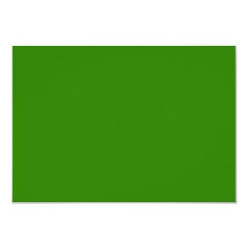 Dark Green Background Custom Announcement