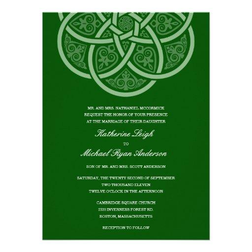Irish Wedding Invitations 001 - Irish Wedding Invitations